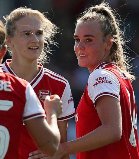 Van de Donk en Roord schitteren samen bij Arsenal: 'Dit meenemen naar Oranje'