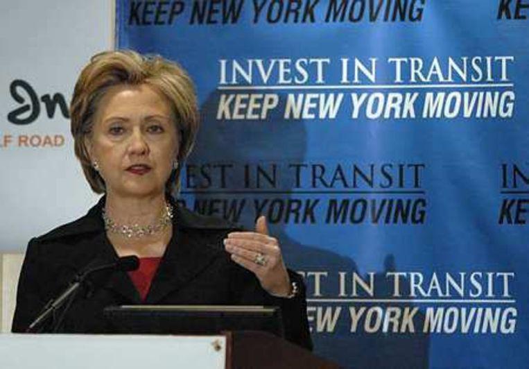 Hillary Clinton Foto AP/Tim Roske Beeld