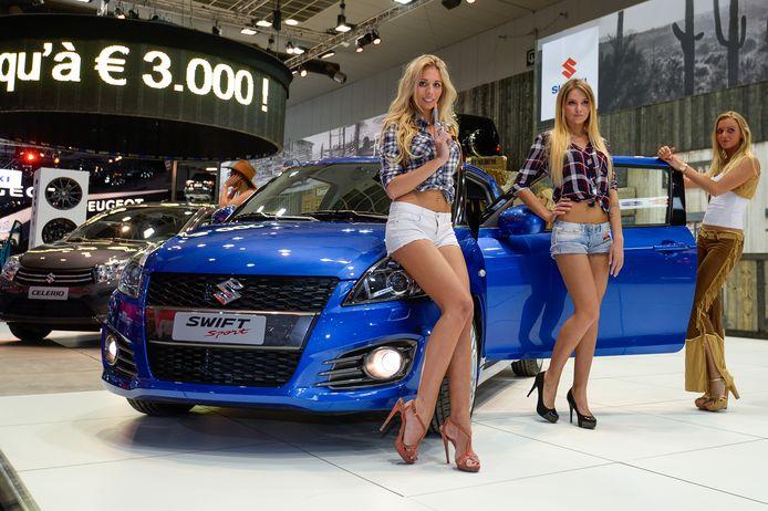 Het Japanse Suzuki trekt geen hardrijders aan. 22,1 procent van de eigenaren pakte in 2017 minstens één bon.