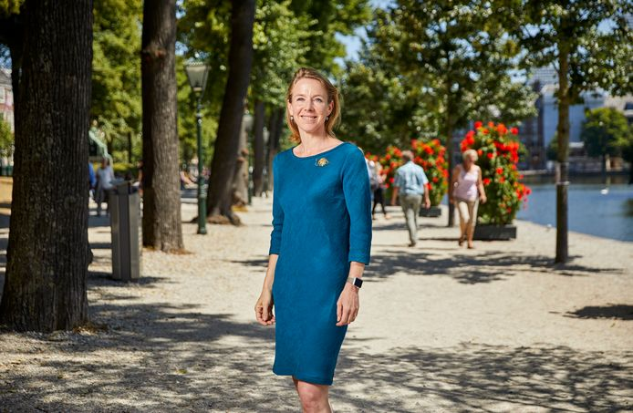 Stientje van Veldhoven, staatssecretaris van Infrastructuur en Waterstaat (D66).