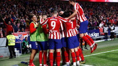 Altético Madrid klopt Villarreal met 3-1 en klimt op naar de derde plaats