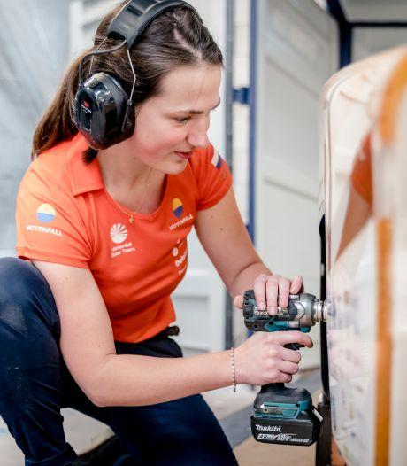 Marloes is na record niet bang voor teams met nog snellere zonnewagen: 'Dat zou heel leuk zijn'