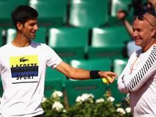Agassi gaat door als steun en toeverlaat van Djokovic