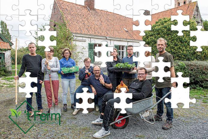 De vzw 't Ferm rekent  op giften van mensen om de laatste stukjes van de nieuwe puzzel mee te leggen