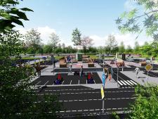 Stadsidee Harderwijk 2018:  multifunctioneel plein aan de Rietmeen