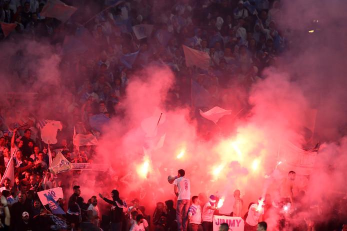 Fans van Marseille.
