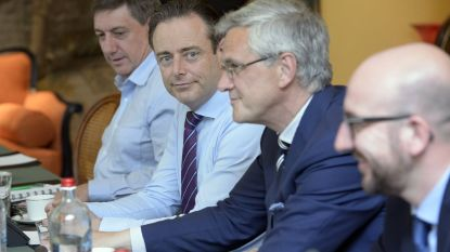 """De Wever: """"Peeters heeft mij verschrikkelijk kwalijk genomen dat hij geen premier was"""""""