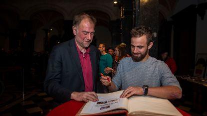Victor 'Vocsnor' Campenaerts wordt geëerd op fandag in Borgerhout