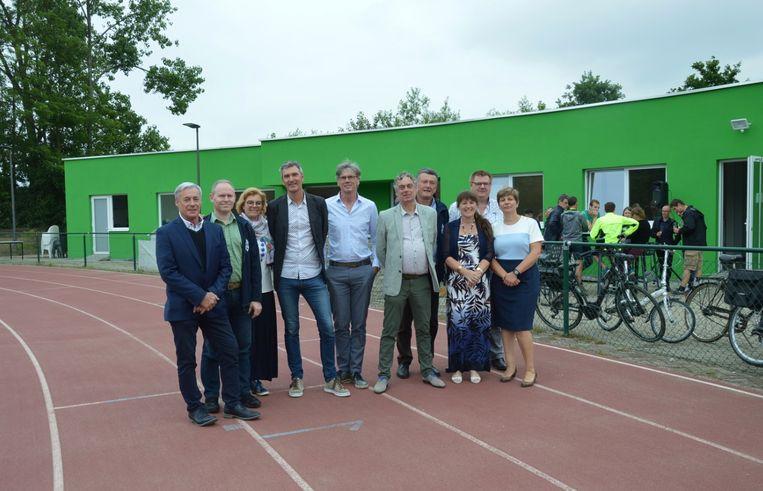 Atletiekclub Vita heeft sinds enkele maanden een nieuw clubhuis, dat in juni nog officieel werd ingehuldigd samen met het stadsbestuur.