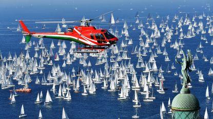FOTO. Grootste botenrace ter wereld levert prachtige beelden op