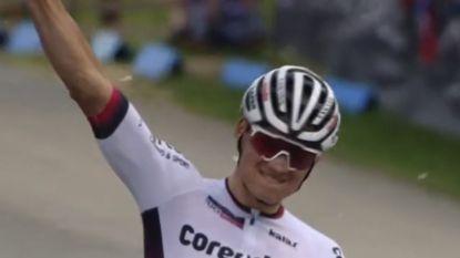 Van der Poel doet het nu ook op de mountainbike! Hij wint zijn eerste wereldbeker in Nove Mesto