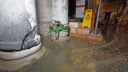 """Water in basiliek van San Marco tot 90 centimeter hoog: """"In één dag tijd 20 jaar verouderd"""""""