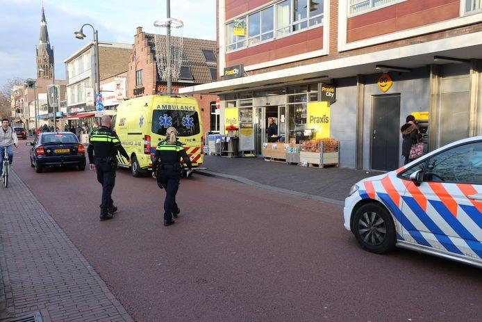 Gewonde bij straatroof op Woenselse Markt in Eindhoven.