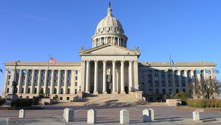 Het Capitool (parlementsgebouw) van de staat Oklahoma. Beeld Wikimedia