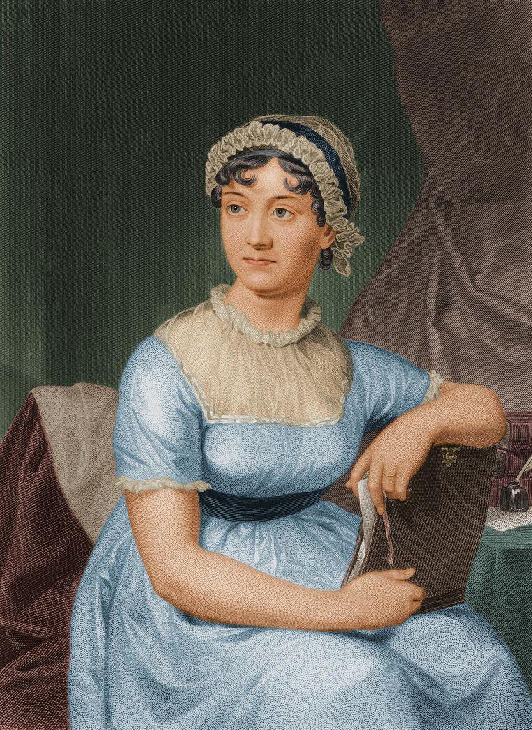 Romancier: Jane Austen. 'Ik ben wat onbetrouwbaar op dit gebied.' Beeld getty