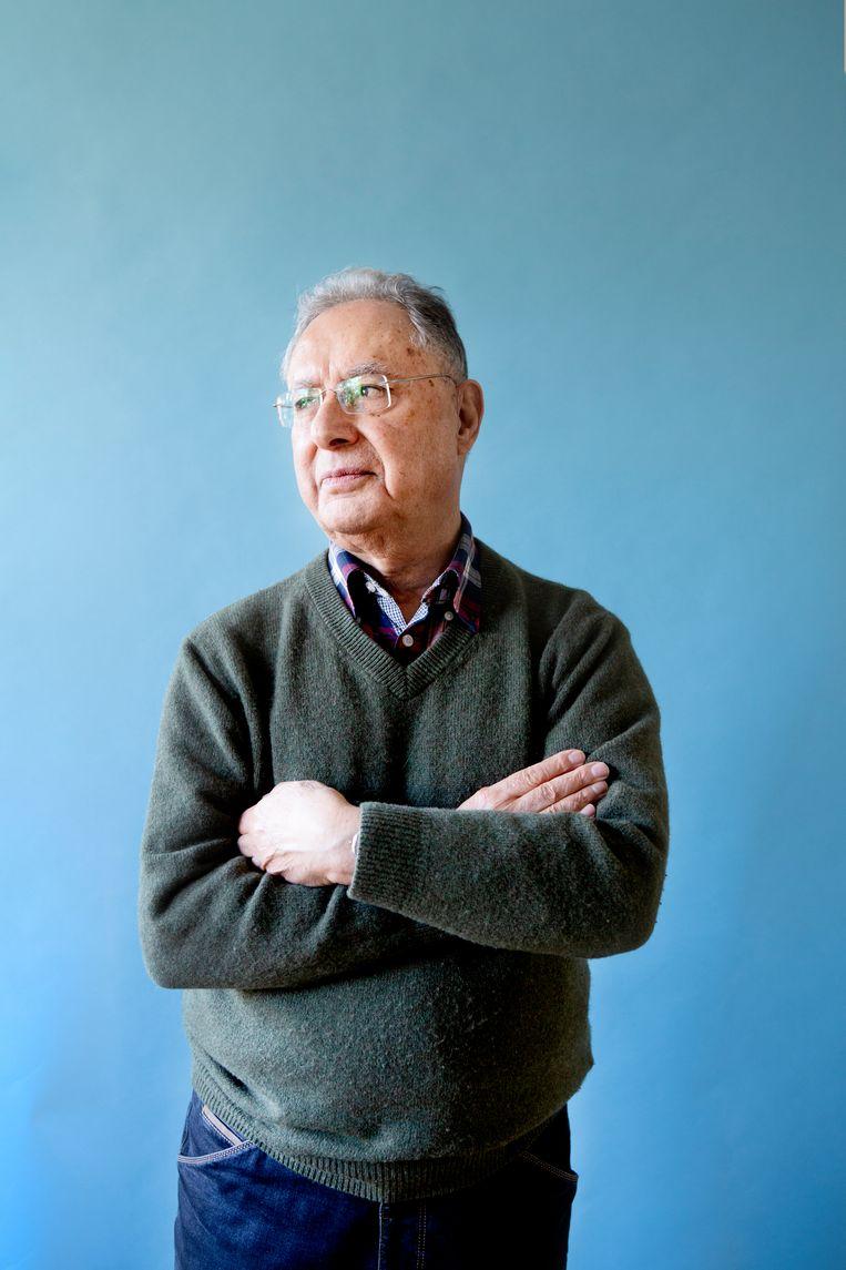 Darius Madjlessi, Iraans-Nederlandse tolk. Beeld Pauline Niks