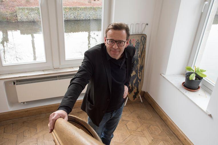Kunstenaar Wim Delvoye.
