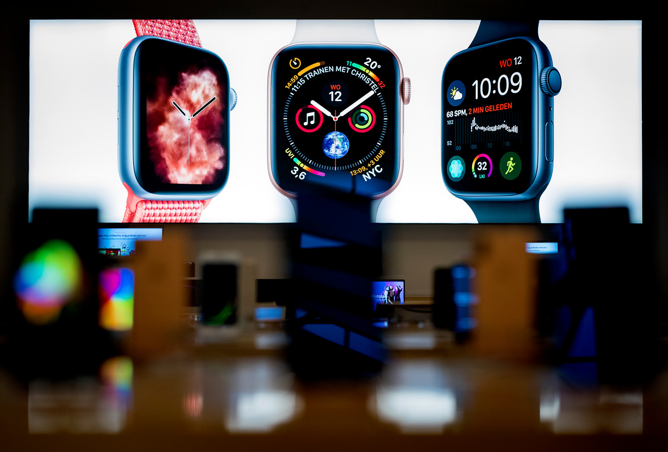 Een smartwatch van Apple
