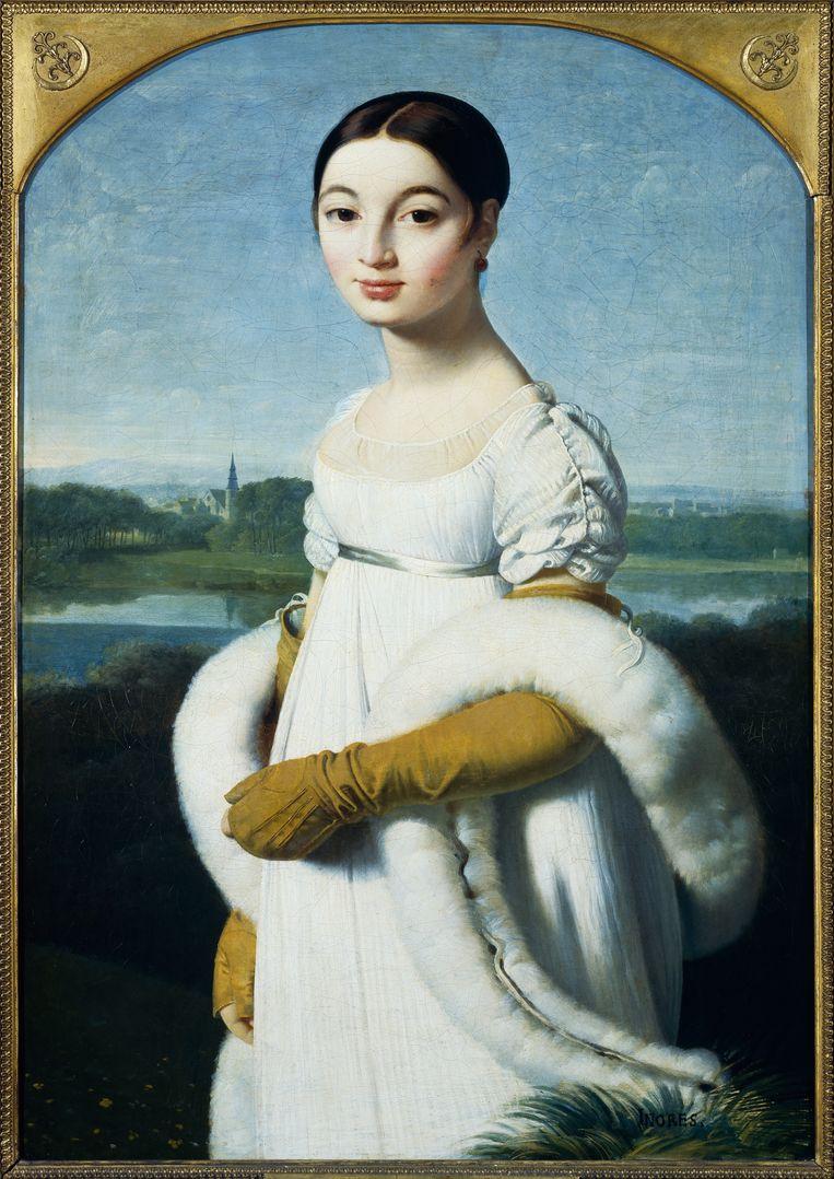 Ingres: Mademoiselle Caroline Rivière Beeld Getty