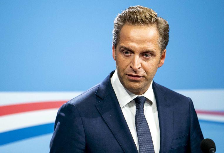 Vicepremier Hugo de Jonge Beeld null