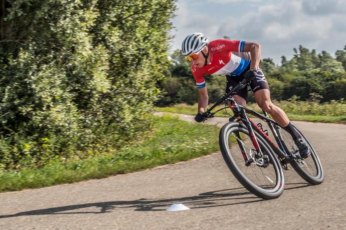 Mountainbiker Jeroen van Eck.
