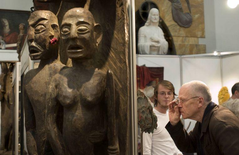 Observeer dit weekend 'Tribal Art' in De Duif Beeld Elsbeth Tijssen