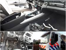 Dieven slopen auto's voor apparatuur in Oud-Beijerland