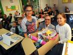 Gaia (11) en Maj (9) uit Domburg helpen scholen in Suriname