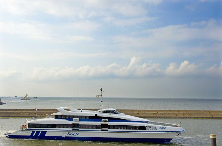 De veerboot naar Terschelling Beeld anp