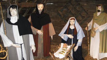 Kindje Jezus gestolen uit kerststal