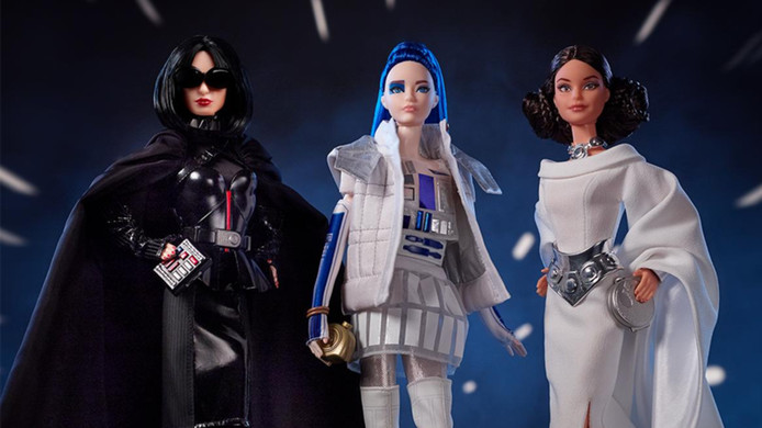 De Star Wars-Barbies