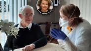 """Koningin belt Kinrooise verpleegster Esther om haar te bedanken: """"Het was een hartverwarmend gesprek. Ik werd er even stil van"""""""