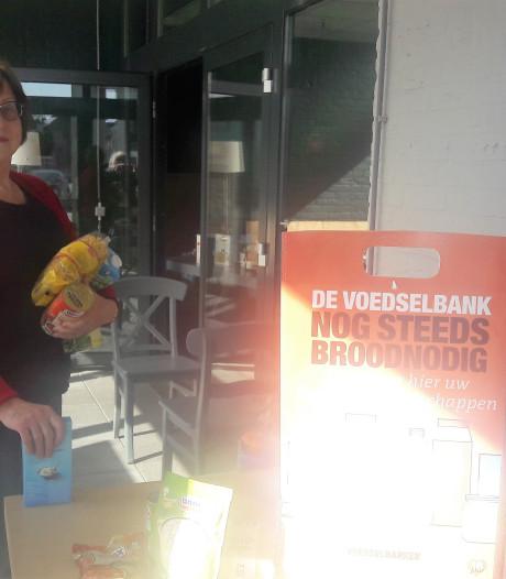 Inzameling voor Voedselbank Loon op Zand loopt 'verschrikkelijk goed'