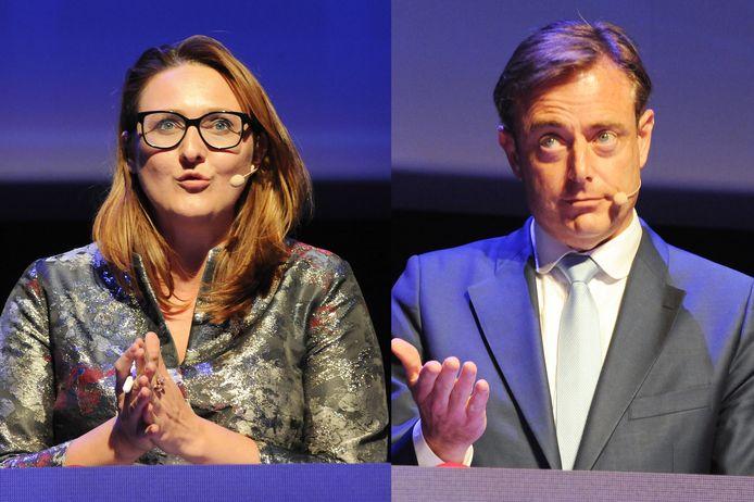 Gwendolyn Rutten et Bart De Wever.
