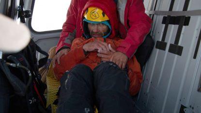 Russische klimmer zat zes dagen lang vast in bergen nadat partner dodelijke val maakte
