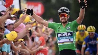 Sagan schiet raak op hellende aankomst in Tour, Van Avermaet blijft leider