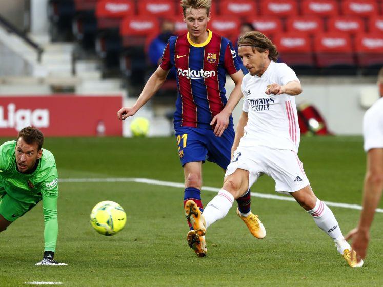 Real Madrid deelt een flinke tik uit aan FC Barcelona