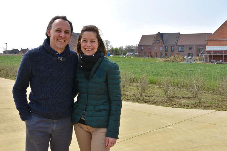 Tuinieren op Langwater - Nicolas Decruynaere en Annemieke Lambrecht zijn de eerste inwoners van de nieuwe verkaveling
