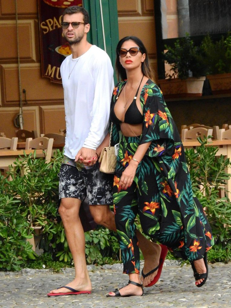 Grigor Dimitrov en Nicole Scherzinger.