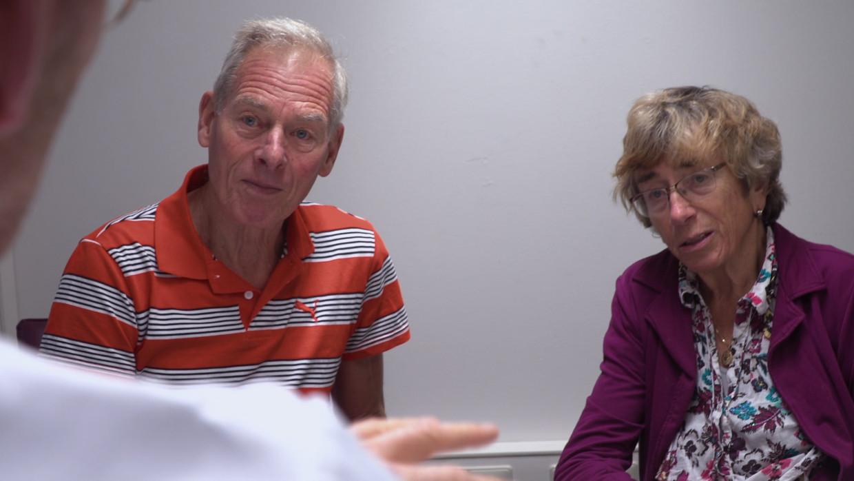 Kees Rijninks en Carmen Cobos.