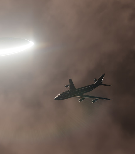 Piloten zien ufo boven Ierland: 'Zeer helder licht en razendsnel'
