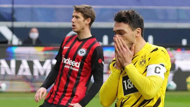 Dortmund met Witsel maar zonder Hazard verspeelt punten tegen Frankfurt