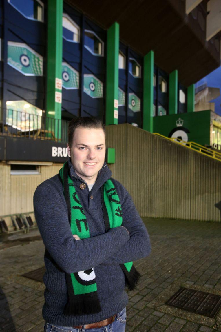 Nick Blontrock wordt de nieuwe stadionomroeper bij Cercle Brugge.