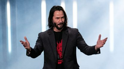 70.000 mensen willen van Keanu Reeves Time's 'Person of the Year' maken