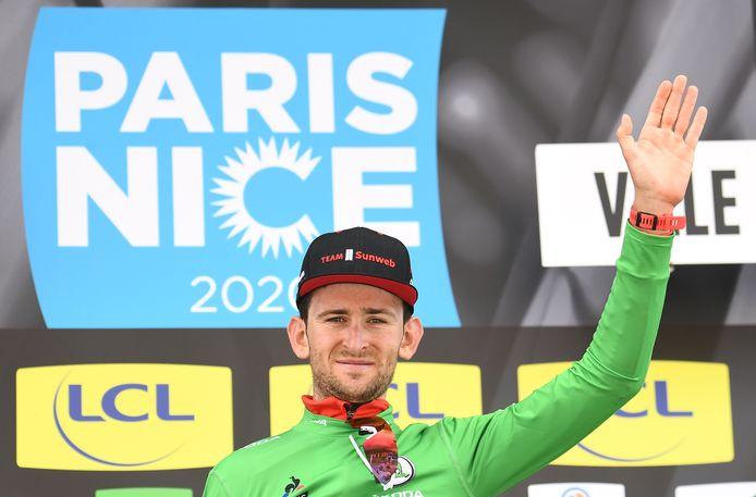 Vainqueur d'étape, deuxième du général et maillot vert: Tiesj Benoot avait brillé sur la course au soleil en 2020.