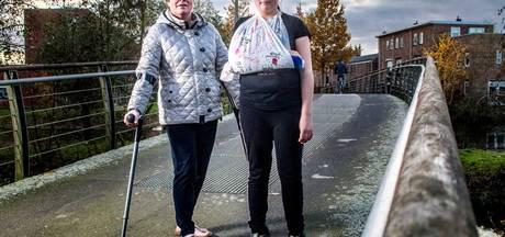 Monique (54) ziektewet in na 'kwajongensstreek' met touwtje