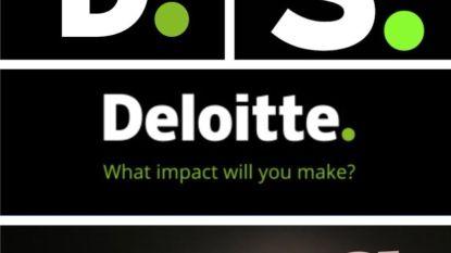 """""""Geven jullie nu ook financieel advies?"""" Nieuw logo Sporza lijkt verdacht veel op dat van Deloitte"""