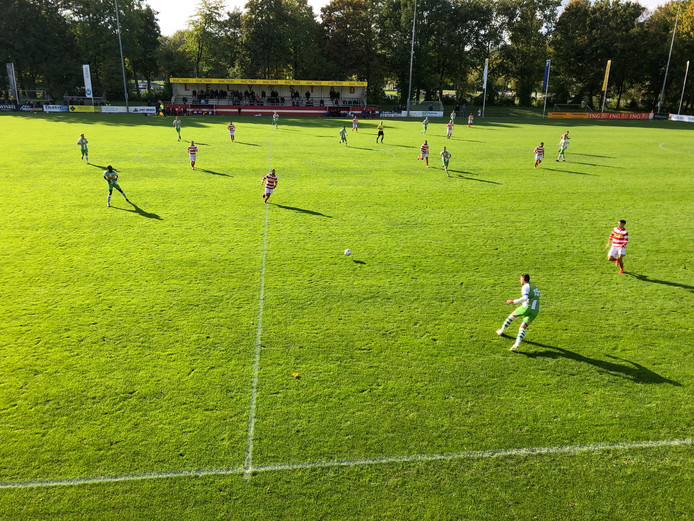 Ook asv Dronten had geen kind aan SV Lelystad.