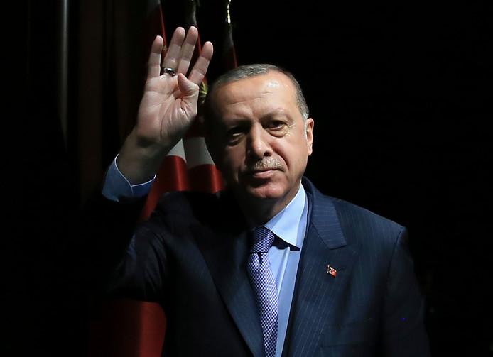 Turkse president Recep Tayyip Erdogan.