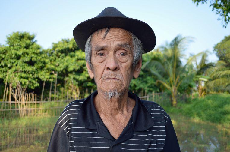 Le Van Ba (79). Woont al zijn hele leven in de Mekong Delta. Zegt dat het weer in de delta volstrekt onvoorspelbaar is geworden.  Beeld Ate Hoekstra